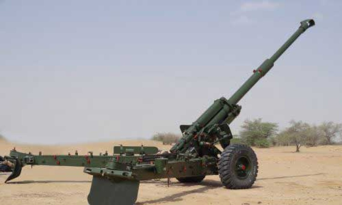 Indian Army Inducted Sharang 155 mm Artillery Piece