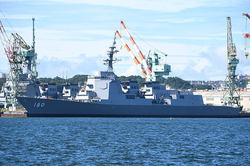 JS Haguro (DDG-180) AEGIS guided missile destroyers