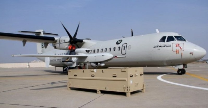 The Pakistan Navy inducted an ATR-72 MPA, an ATR-72 in cargo/para-drop configuration, and  two LUNA NG UAVs