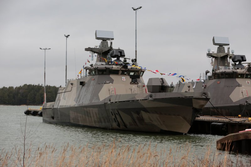 The Finnish Navy has received the first of four upgraded Hamina-class missile boat from Patria. The total cost of the Hamina renovation project amounts to about 223 million euros.