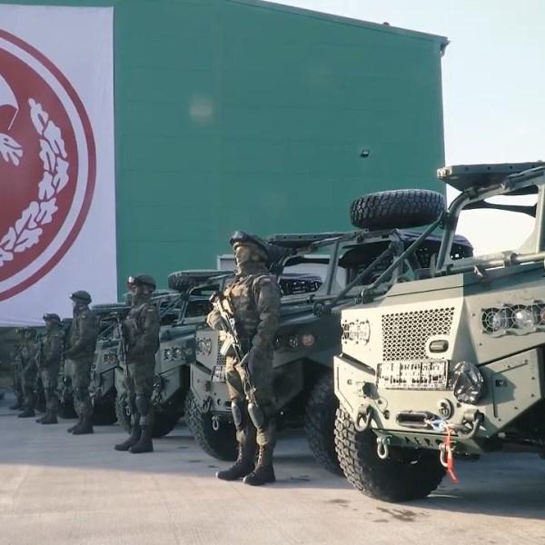 Polish 6th Airborne Brigade Special Purpose Vehicles