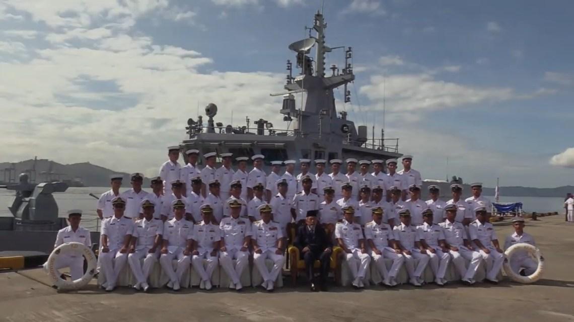 Royal Malaysian Navy KD Keris Arrives at Sepanggar Naval Base