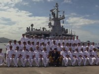 Royal Malaysian Navy KD Keris Arrives at Sepanggar Naval Base