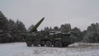 9K720 Iskander-M mobile short-range ballistic missile system