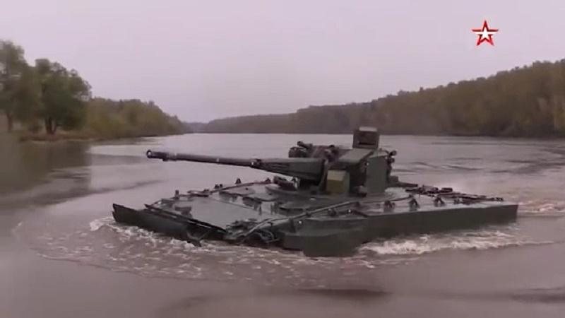 2S38 Derivatsiya-PVO self-propelled anti-aircraft artillery (AAA)