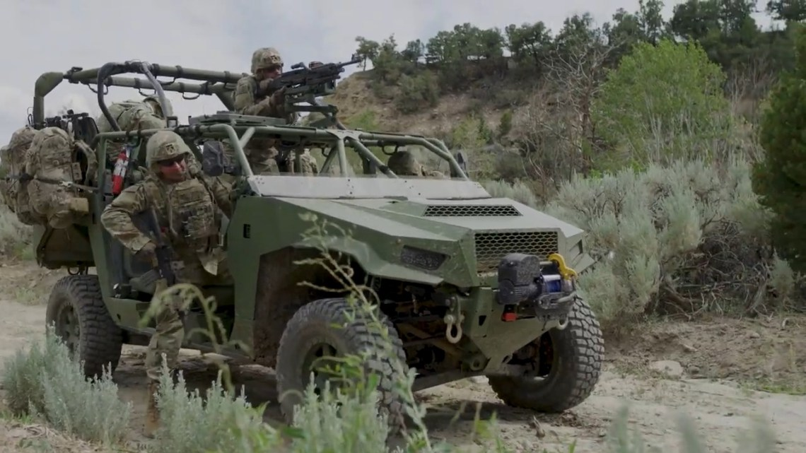 SAIC DAGOR Infantry Squad Vehicle (ISV)