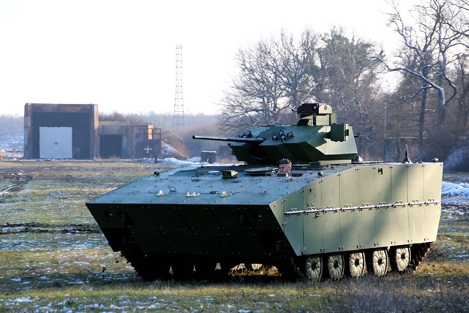 Latest modernized version Serbian Army BVP BVP M-80AB1 infantry fighting vehicle