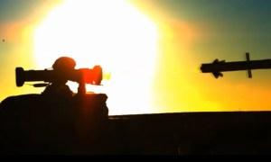 SPIKE SR Missile Weapon System Demo