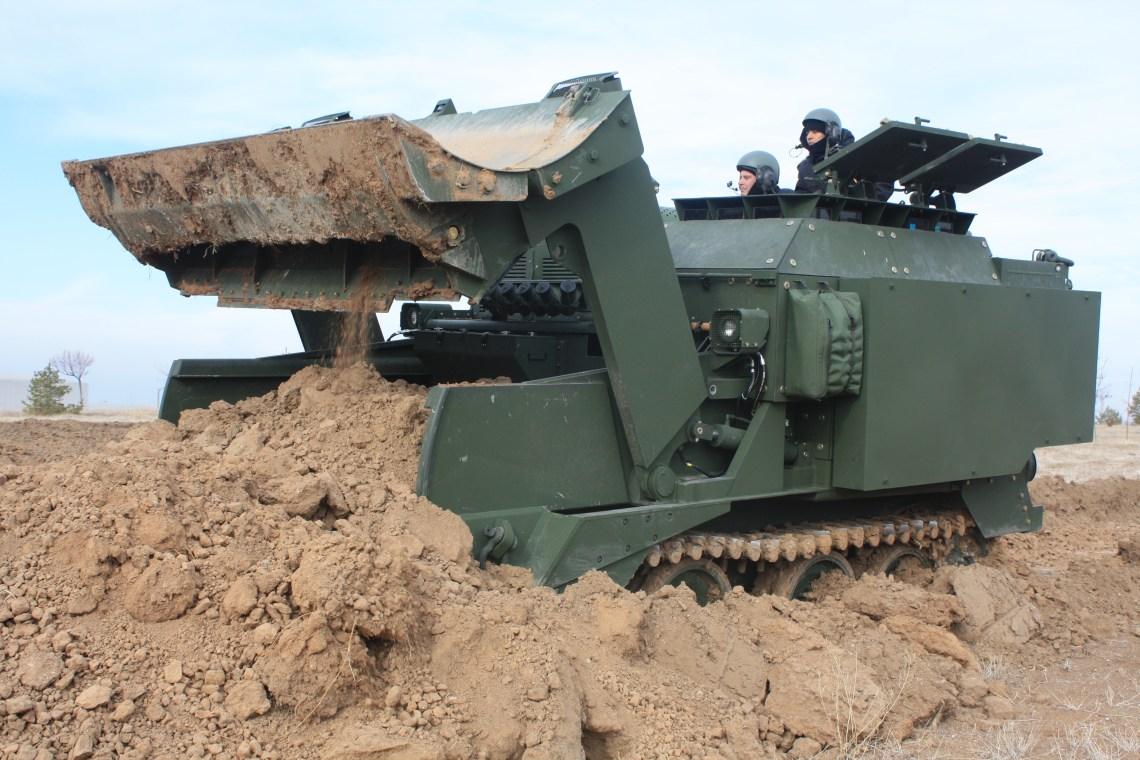 FNSS Kunduz Amphibious Armored Combat Earthmover (AACE)
