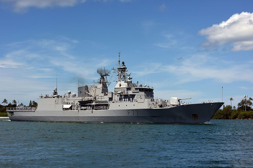 Royal New Zealand Navy (RNZN) Anzac-class frigates