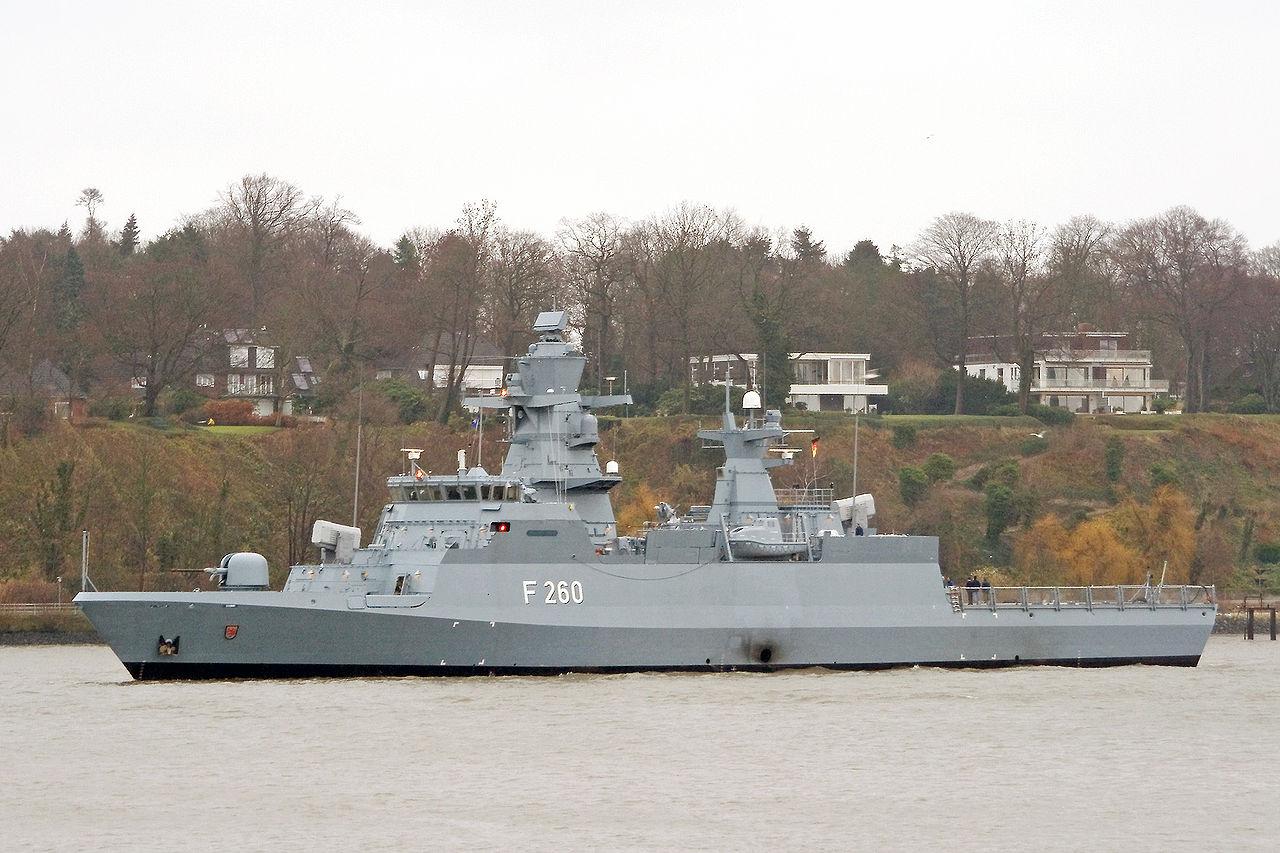 German Navy Braunschweig (F260) ocean-going corvettes