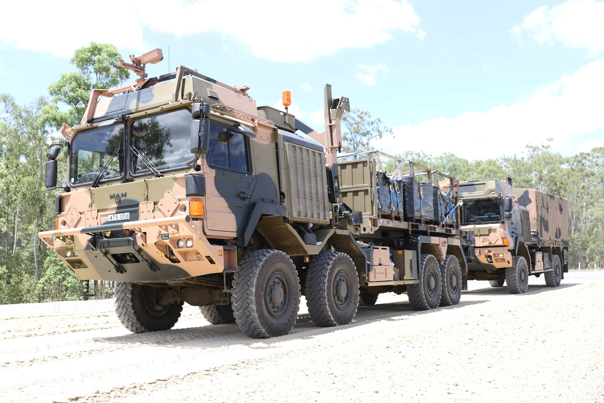 Rheinmetall MAN High Mobility Logistics Vehicles