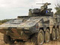 Australian Army Rheinmetall Boxer 8×8 Combat Reconnaissance Vehicle