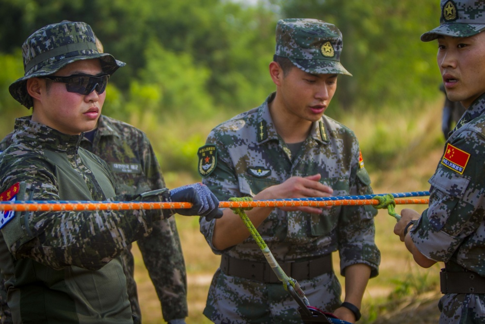 China Military Participates in Largest Joint Military Exercise in Southeast Asia