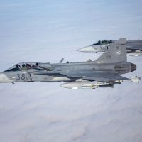 Czech and Hungarian Saab Gripens Participate in MAGDAY Exercise