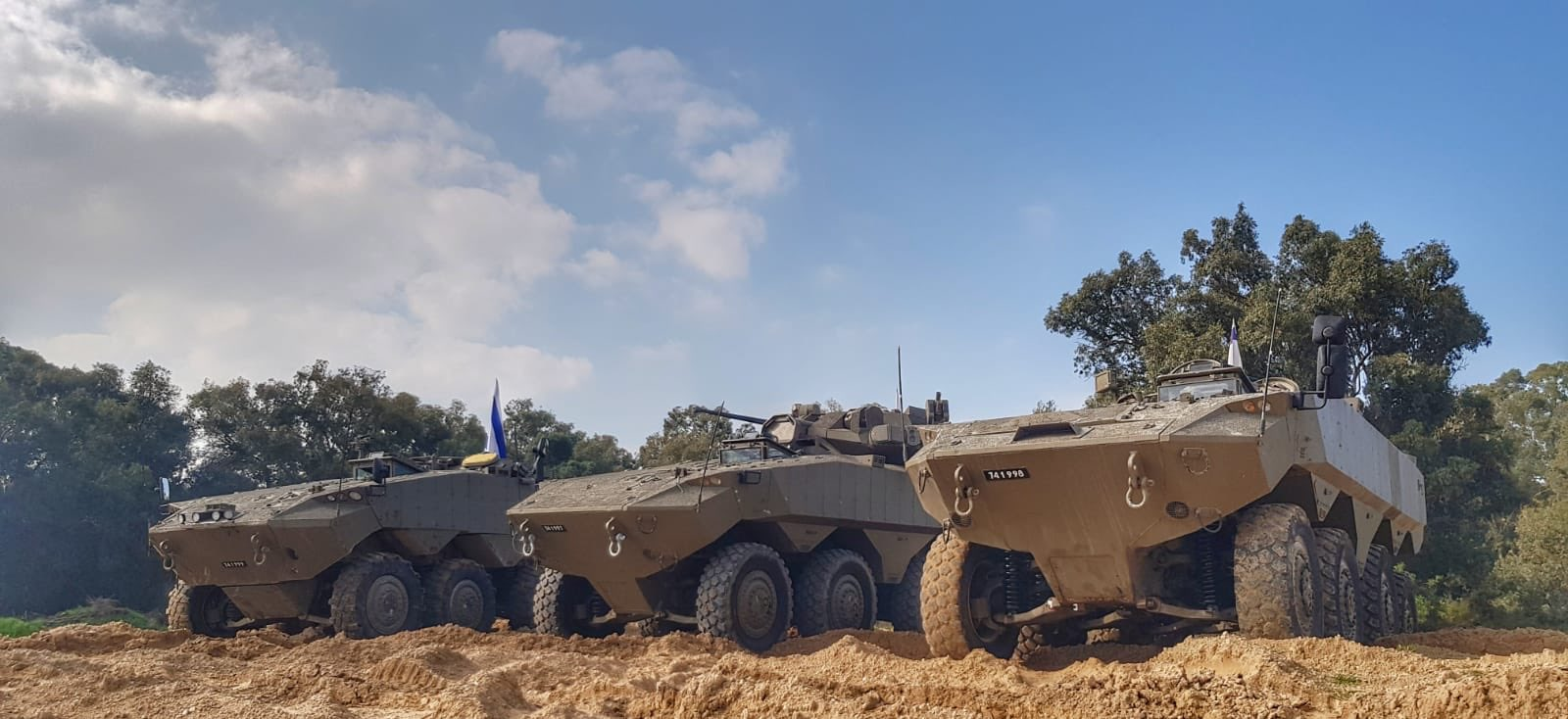 Eitan 8x8 Armored Fighting Vehicle (AFV)