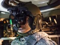 Elbit's IronVision elmet-mounted battlefield situational awareness system. Photo Elbit Systems UK.