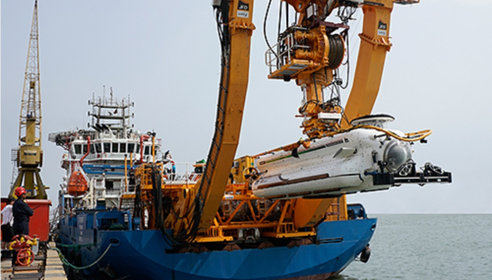 JFD successfully delivered the second of two Third Generation submarine rescue systems to the Indian Navy