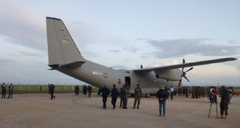 Kenya Air Force C-27J Spartan Military Transport Aircraft