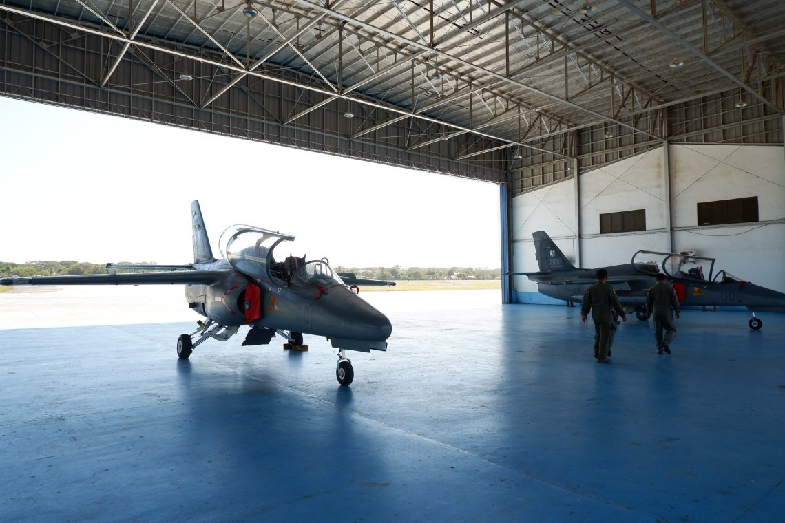 Philippine Air Force SIAI‐Marchetti S.211 Trainer Aircraft
