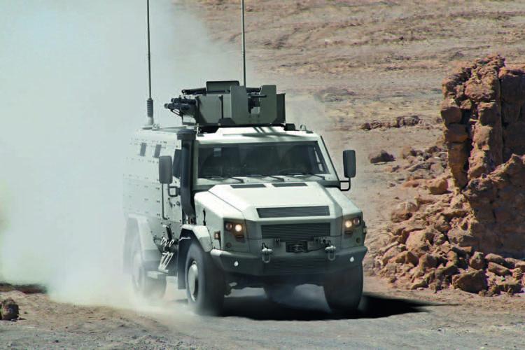 Rheinmetall MAN Survivor R Special Protected Vehicle