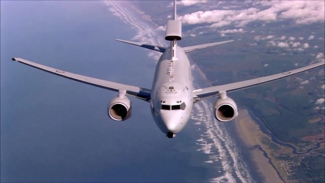 Royal Australian Air Force Boeing E-7A Wedgetail Airborne Early Warning & Control aircraft