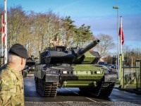 Royal Danish Army Receives First Leopard 2A7V Main Battle Tank