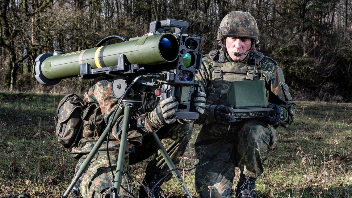 EuroSpike Spike Precision-Guided Tactical Missiles
