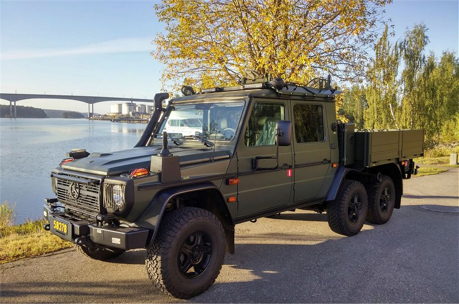 Sweden Orders 90 Mercedes-Benz G-class G 300 CDI 6x6 Double Cab