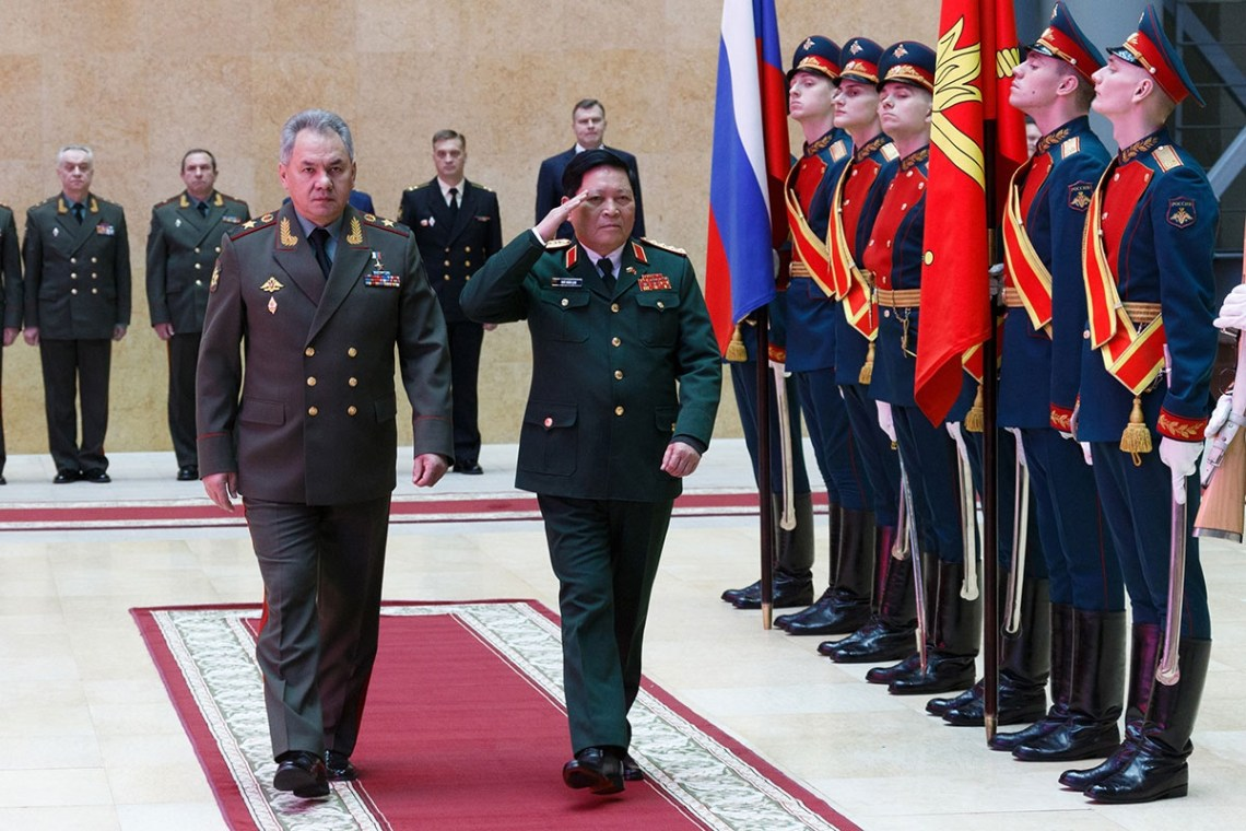 The Russian Defence Minister Discussed Cooperation with a Colleague from Vietnam