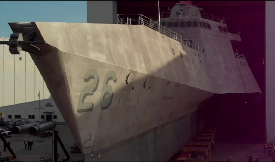 USS Mobile (LCS 26) Launch