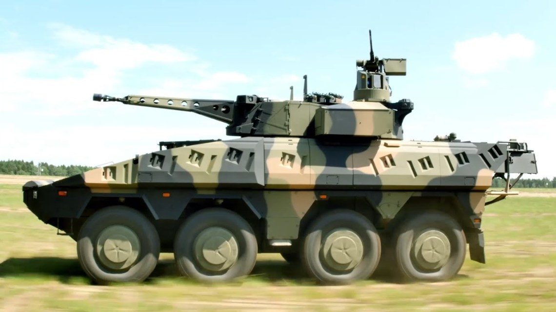 ARTEC Boxer 8x8 Multirole Armoured Fighting Vehicle