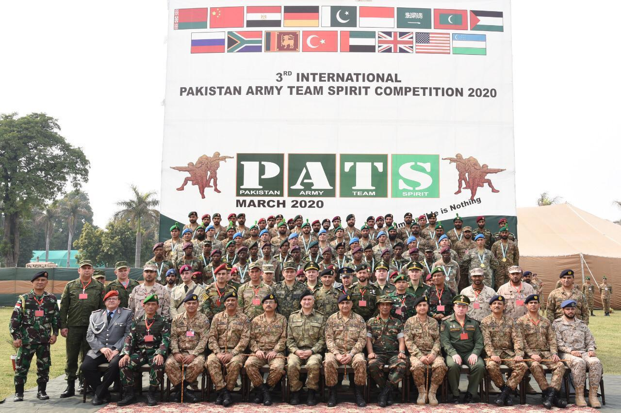 3rd International Pakistan Army Team Spirit