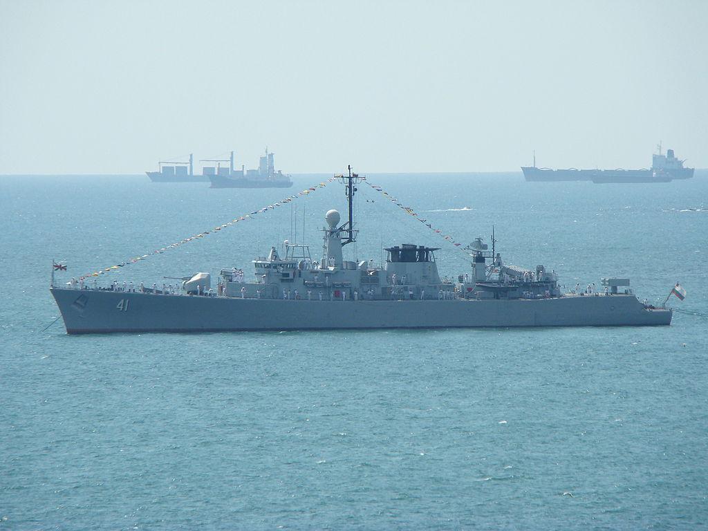 Bulgarian frigate Drazki 41