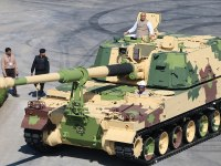 K9-VAJRA-T self-propelled 155 mm howitzer