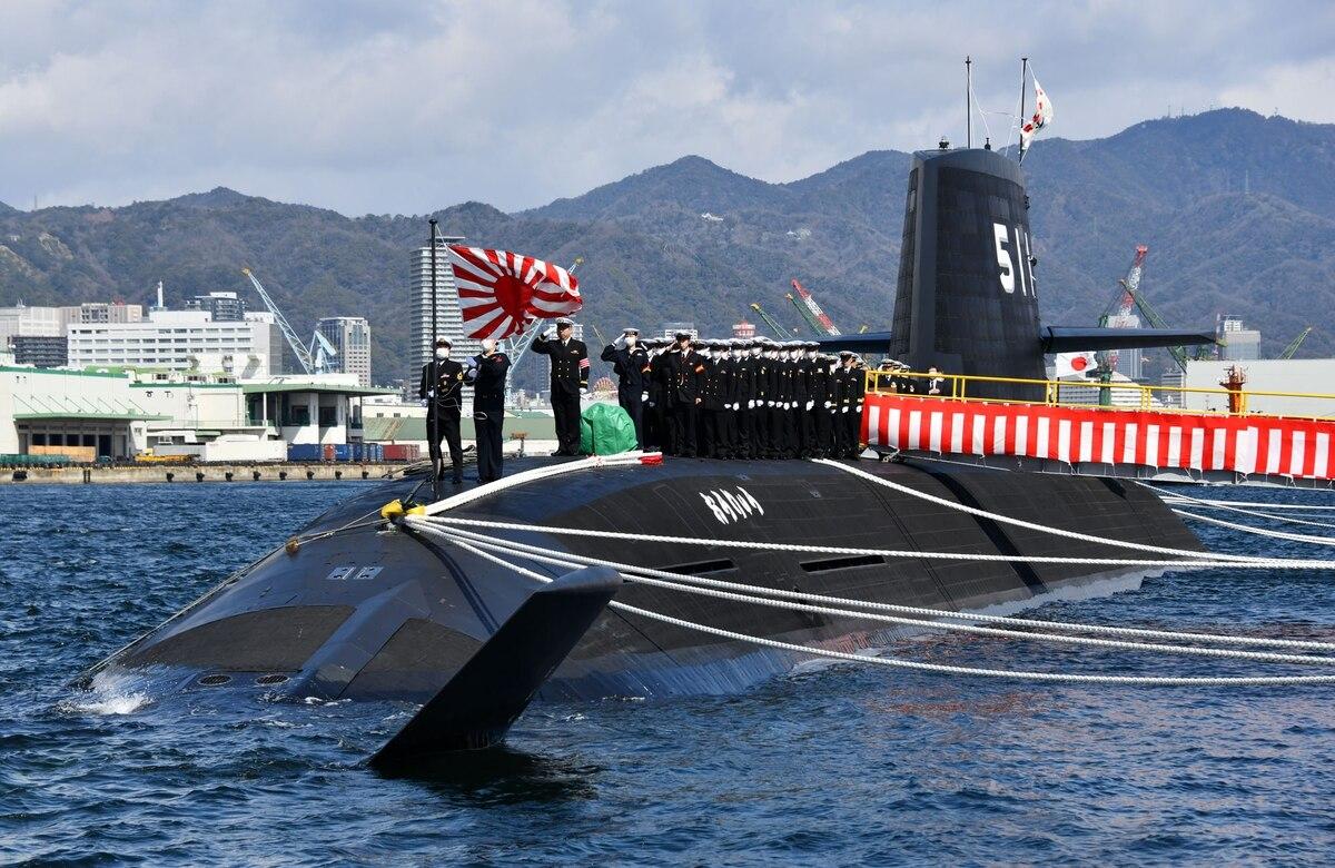 Japan Maritime Self-Defene Llithium-Ion Battery Submarine Ouryu