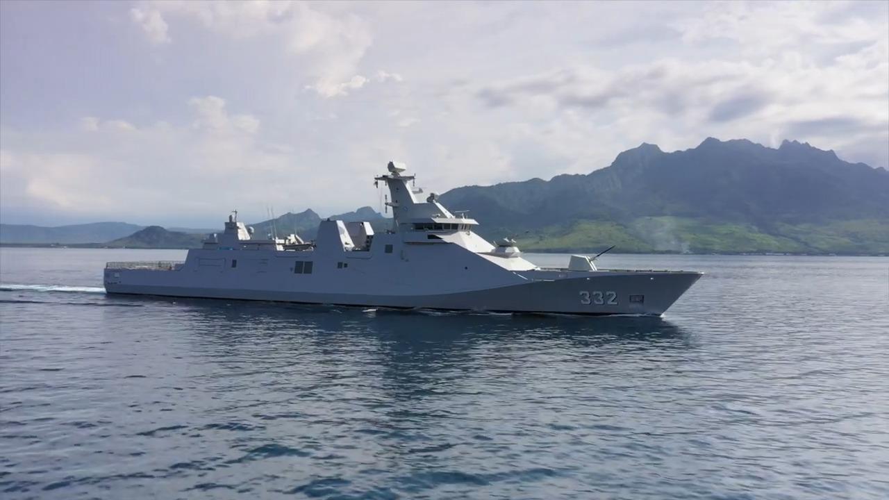 Indonesian Navy KRI Gusti Ngurah Rai SIGMA 10514-Class Guided Missile Frigates