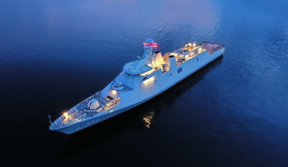 Indonesian Navy KRI Gusti Ngurah Rai  SIGMA 10514-Class Guided Missile Frigates