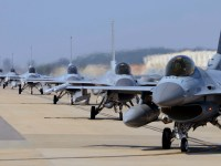Republic of Korea Air Force F-16 Fighting Falcon Fighter Jets