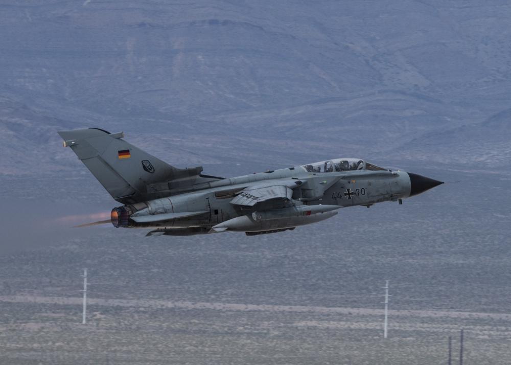 German Air Force Panavia Tornado Interdictor Strike Aircraft