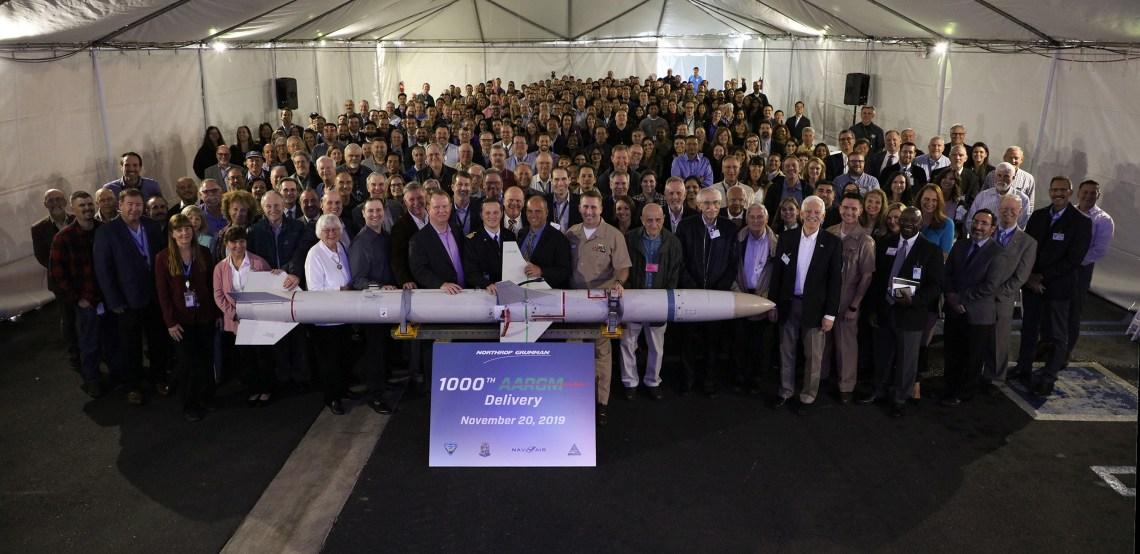 Northrop Grumman's 1000th AARGM Ceremony