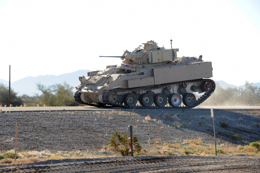 Advanced Running Gear System Tested at U.S. Army Yuma Proving Ground