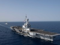 French Navy aircraft carrier FS Charles De Gaulle (R91)