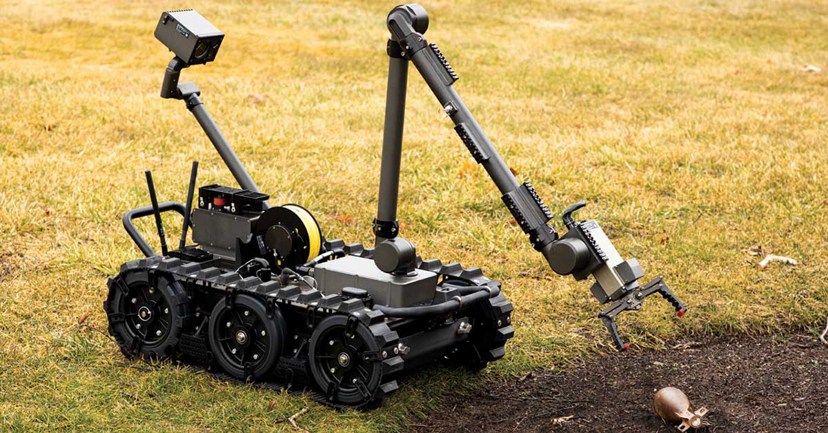 FLIR Receives $23 Million Contract to Provide U.S. Air Force with Centaur Unmanned Ground Vehicles