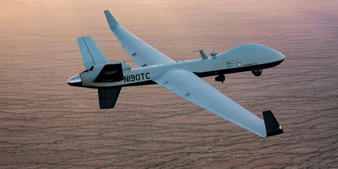 General Atomics Aeronautical Systems Inc To Use SABCA Radomes for MQ-9B SkyGuardian