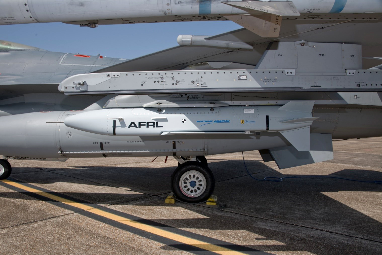 U.S. Air Force Research Laboratory Gray Wolf Low-Cost Turbojet Missile