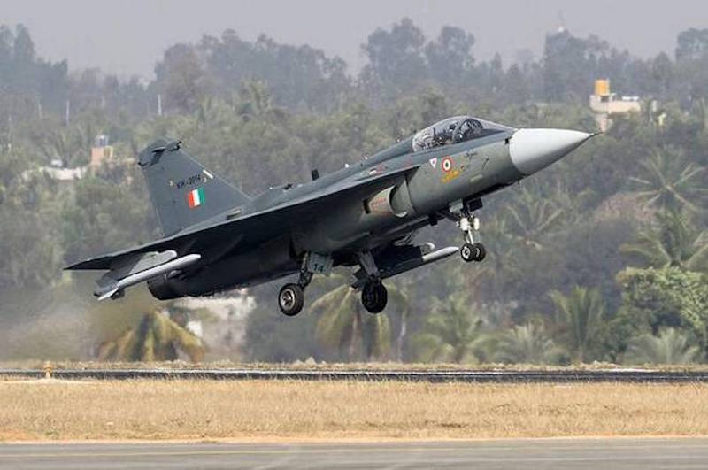Indian Air Force HAL Tejas Mark 1A multirole light fighter