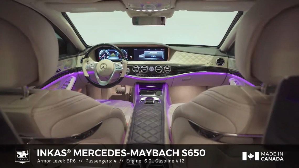 INKAS Armored Mercedes-Benz Maybach S650