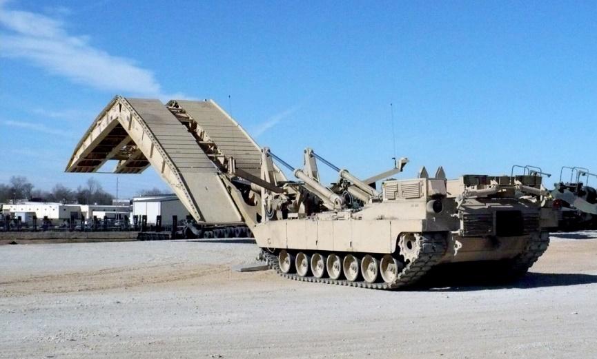 U.S. Army M1074 Joint Assault Bridge (JAB)