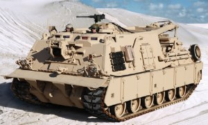 BAE Systems M88A2 Hercules Armored Recovery Vehicles
